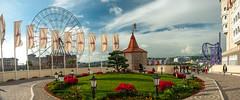 Fairytale (Igor Komissarov) Tags: light panorama flower fairytale clouds nikon olimpic sochi