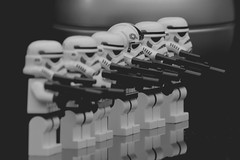 On parade (padge83) Tags: star blackwhite nikon stormtroopers wars d5300