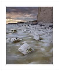 Untitled (Nigel Morton) Tags: sea landscape chalk rocks tide cliffs sevensisters eastsussex birlinggap beachhead beacd nigelmorton
