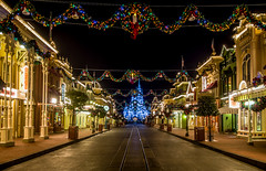 Photo of the Day: December 24, 2015 (olympussocialpr) Tags: christmas night orlando epcot florida olympus disneyworld wdw waltdisneyworld hdr magickingdom animalkingdom omd 2013 disneyphotos disneyphotography normlanier normlaniercom