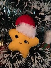 Estrelinha de natal (Pina & Ju) Tags: christmas natal star navidad handmade artesanato gingerbread ornaments feltro patchwork papainoel rvore decorao estrelinha rena duende tecido enfeite elfo mamenoel bolachinha