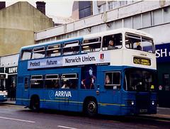 ArrivaWS-LR28-TPD128X-Croydon-260299c (Michael Wadman) Tags: croydon londoncountry leylandolympian route405 londoncountrybusservices lcbs tpd128x arrivawestsussex lr28