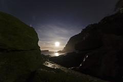 Playa estano_DSC9484 (Jos Aguilera) Tags: paisajes beach asturias playa luna gijon playas xixon anochecer estao