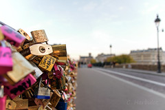Pont des amoureux (cedric.harbulot) Tags: city bridge paris france love la cadenas nikon capital sigma pont romantic capitale padlock ville amoureux in tournelle romantique 18250mm d5300
