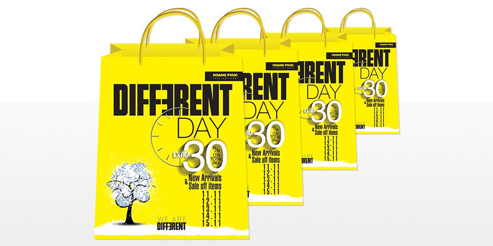 DIFFERENT DAY – Ngày hội khuyến mãi đặc biệt từ Hoang Phuc International