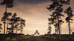 Radio Kootwijk #2 (Hans_Jellema) Tags: trees building night radio landscape nightscape nederland kootwijk