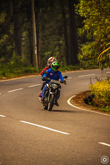 Bike ride (Charindra Salgado) Tags: road nature beautiful canon bikes srilanka rider 500d