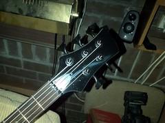 Bow Hunter 5 string Bass 1cos 1000 (Lox Pix) Tags: lox loxpix guitar collection bass mandolin fender gibson yamaha ibanez rickenbacker vintage beatle violin shape kent sleekline bowhunter trump squier stratocaster telecaster hofner loxwerx l0xpix