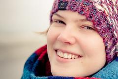 enjoying this freezing, rainy day :) (Petar Stoykov) Tags: winter portrait woman cold beach nature netherlands girl beautiful smile face hat canon eos eyes photoshoot freezing posing rainy portraiture hoekvanholland 2470mm 1dmarkiii 1dmark3 canon1dmarkiii canon1dmark3