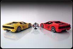 Ferrari Testarossa 512 TR (Firas Abu-Jaber) Tags: car lego ferrari testarossa moc