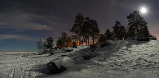 Moonlit Ladoga