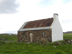 Old Salmon Bothy, Clachtoll, North West Sutherland, June 2015 (allanmaciver) Tags: old windows roof chimney white west brick industry fishing north salmon sutherland musuem bothy clachtoll snowcem allanmaciver