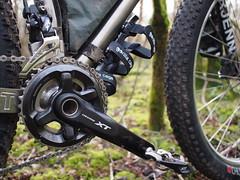XT 2 x 11 (South Downs MTB Skills) Tags: exposure rusty 29 titanium revo travers gorillacage bikepacking alpkit tourdivide apidura freeparable