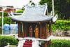 One Pillar Pagoda (Linus Wärn) Tags: china temple pagoda miniature asia buddhist buddhism guangdong shenzhen buddhisttemple themepark windowoftheworld scalemodel onepillarpagoda