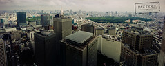 Tokyo afternoon (@PAkDocK / www.pakdock.com) Tags: park city travel viaje light sky panorama building film beautiful japan skyline architecture buildings tokyo shinjuku cityscape afternoon view angle sony horizon voigtlander wide panoramic gyoen japon meiji citiscape vcity a6000 pakdock sonya6000