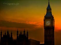 Londres, Big Ben Crepsculo (mdoloreslillo1) Tags: inglaterra sunset england building london architecture cityscape bigben londres crepsculo paisajeurbano englad