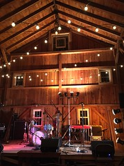 The Stage for Romantica's Barn Show (Kevin D. Hendricks) Tags: concert stage romantica