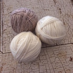 "There's something just lovely about a ball of wool yarn. The color, the texture, the infinite possibilities!  #1840farm #wool #fiber #felt #yarn • <a style=""font-size:0.8em;"" href=""http://www.flickr.com/photos/54958436@N05/24689902085/"" target=""_blank"">View on Flickr</a>"