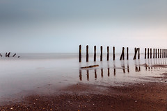 defenders (I AM JAMIE KING) Tags: longexposure sea beach coast desolate defence groynes spurn ndfilter spurnpoint