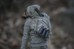 Over Your Shoulder 2 (wadetaylor) Tags: toy hoodie environmental 3a gasmask custom grenade kitbash wwr ashleywood toyphotography onesixth worldwarrobot threea threeacustom