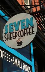 Seven Sheep Coffee (zawodowy_fotograf) Tags: county city art coffee shop canon 50mm sheep mark iii sigma seven jersey 5d hudson