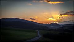 sunset over Hanstein Castle (:: edgar 37 :: 1.8 Million + views :: THANKS !!) Tags: trees sunset sun castle clouds germany landscape deutschland evening thringen sonnenuntergang cloudy wolken thuringia german landschaft sonnenstrahlen eic abends landkreis bewlkt eichsfeld birkenfelde canoneos5dmarkii ef2470f28liiusm hansteincastle