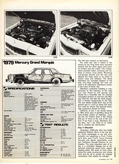 1979 Mercury Marquis vs. 1978 Mercury Marquis (biglinc71) Tags: new november magazine all mercury motor 1978 vs trend comparison 1979 marquis the featured