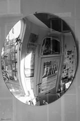 Lazange (Noonski) Tags: park blackandwhite bw food black reflection amsterdam mirror blackwhite wester lazange