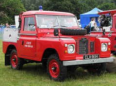 CLH 911H (Nivek.Old.Gold) Tags: 1969 fire rover land series 88 tender 2a 4200cc grdfireservice