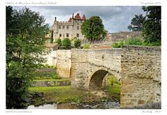 Chteau de Murol prs Saint Amant Tallende [Puy de Dme - Auvergne] (BerColly) Tags: bridge france castle river google flickr riviere pont chateau auvergne puydedome monne bercolly