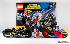REVIEW LEGO 76053 Batman Gotham City Cycle Chase (HelloBricks) (hello_bricks) Tags: dc lego review harley moto batman quinn dccomics superheroes harleyquinn revue deadshot 76053 batpod hellobricks