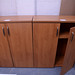 Cherry laminate 2 door storage units