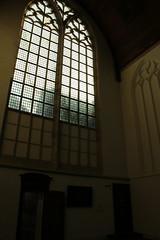Oude Kerk window (firepile) Tags: amsterdam oldchurch oudekerk