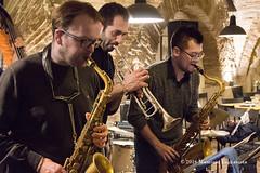 Mission Formosa (fanojazznetwork) Tags: music livemusic trumpet jazz mus musica sax jazzclub saxophone tromba fano livejazz musicphotography sassofono gaetanopartipilo francescolento fanojazznetwork osteriadelcaicco missionformosa