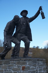 Senghenydd (Mike Kohnstamm) Tags: statue memorial senghenydd