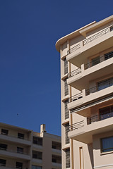 archi (Steph Blin) Tags: city blue sky architecture buildings cannes balcony ctedazur bleu ciel 06 btiment ville azur immeuble balcons