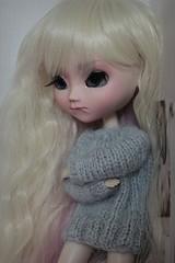 « Et ben si c'est comme ça, ze boude ! >w< » (Loony-Doll) Tags: doll dolls eyelashes makeup full corps wig pullip custom fc custo t2 sculpt poupée acryliques capricieuse customisée misscaprice