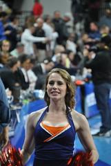UVA DANCER (SneakinDeacon) Tags: basketball cheerleaders providence tournament ncaa uva wahoos friars cavaliers bigeast hoos pncarena