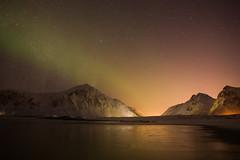 20160228Lofoten-21 (s.schulthess) Tags: schnee winter sea snow norway lights norge vinter meer norwegen wave polar northern lofoten havn wellen polarlicht nordlicht