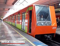 C,N,C,F NM-79 Indios Verdes L-3 (infecktedmetromx) Tags: subway mexico df metro stc l3 mandarino alsthom cimt cdmx cncf cddemexico concarril stcmetro metrodelaciudaddemexico nm79 alsthomcimt