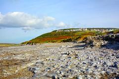 Ogmore by Sea (Dave Roberts3) Tags: sky cloud wales rocks colours village hill pebbles glamorgan bridgend ogmorebysea coth supershot
