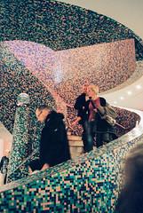 Museum Groningen (Thomas Remme) Tags: color film museum analog stair ishootfilm treppe groningen olympusxa kodakportra400 filmisnotdead meinfilmlab