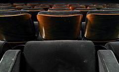 Cinema (V.R.V) Tags: wood brown cinema black art bench movie photography photo chair pattern foto arte pano seat banco preto filme cloth fotografia madeira marrom selfie padro assento snapseed zenfone