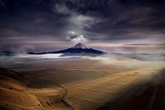 Luci (Zz manipulation) Tags: art lago nuvole natura campagna luci acqua autunno luce vulcano mattino ambrosioni zzmanipulation