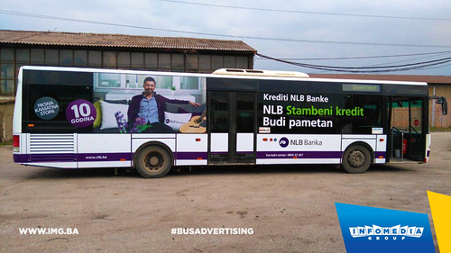 Info Media Group - NLB Banka, BUS Outdoor Advertising, 03-2016 (2)