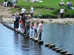 Bolton Abbey (grahamwilletts) Tags: steppingstones