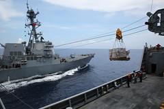 Drew Conducts Fuel and Cargo Replenishment at Sea (#PACOM) Tags: drew ise ras atsea anzac replenishment stockdale mscfe usnscharlesdrew ctf73 uspacificcommand pacom militarysealiftcommandfareast
