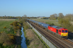 60017 6M00 humber to kingsbury passing branston junction (I.Wright Photography over 2 million views thanks) Tags: junction passing kingsbury humber branston 60017 6m00