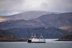 MV Loch Fyne departing Lochaline (Russardo) Tags: ferry scotland mac cal loch calmac aline fyne mv departing caledonian lochaline macbrayne alainn