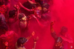 'Holi - Where Emotions Run High' (subodh shetty) Tags: travel red people india colors yellow festival photography nikon god vibrant religion perspective culture documentary vivid traditions places lord celebration devotion nikkor krishna holi prayers barsana brij customs shetty mathura vrindavan bhoomi uttarpradesh subodh sabha nandgaon nikonasia beleifs brijbhoomi iamnikkor nikonmea